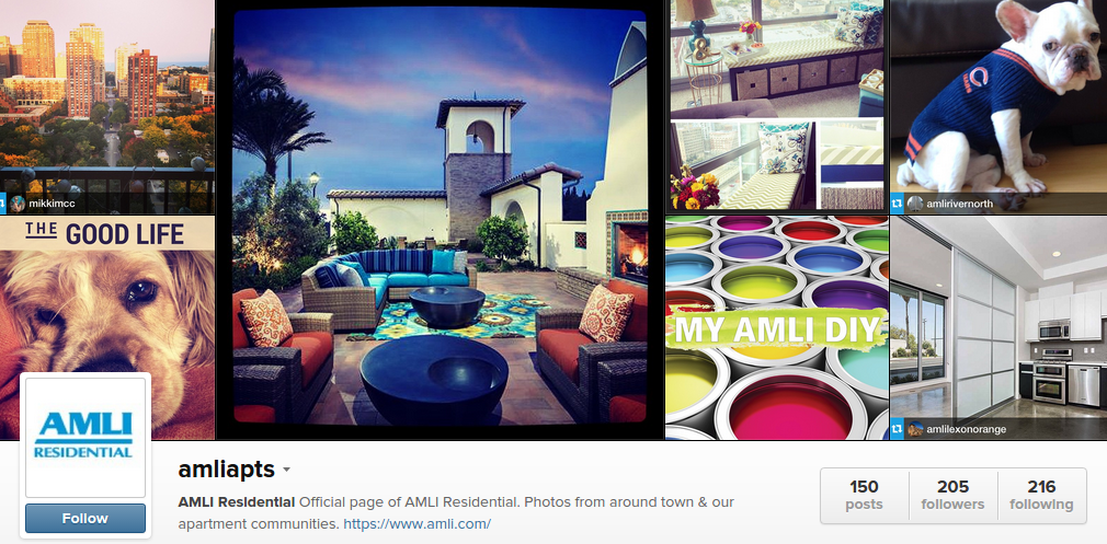 amli apartments instagram