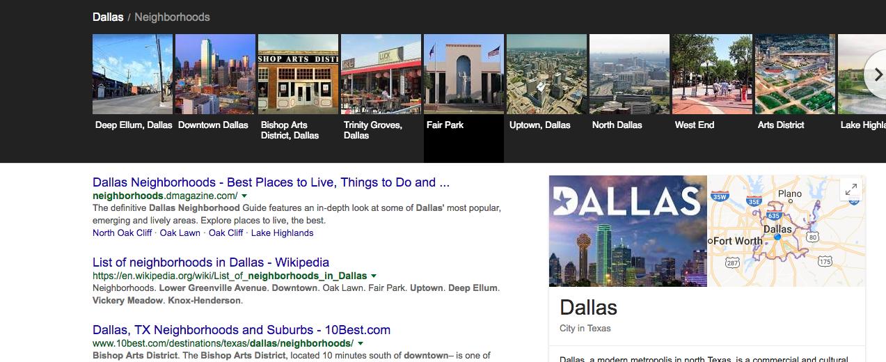 dallas-google-search-neighborhoods