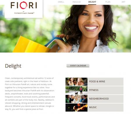 fiori-website-screenshot-content