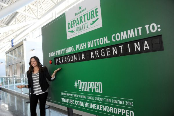 Experiential multifamily marketing campaign