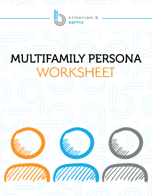 Multifamily Persona Worksheet