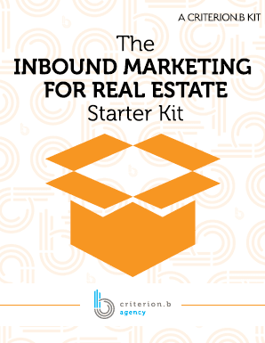 The Inbound Marketing for real estate starter kit
